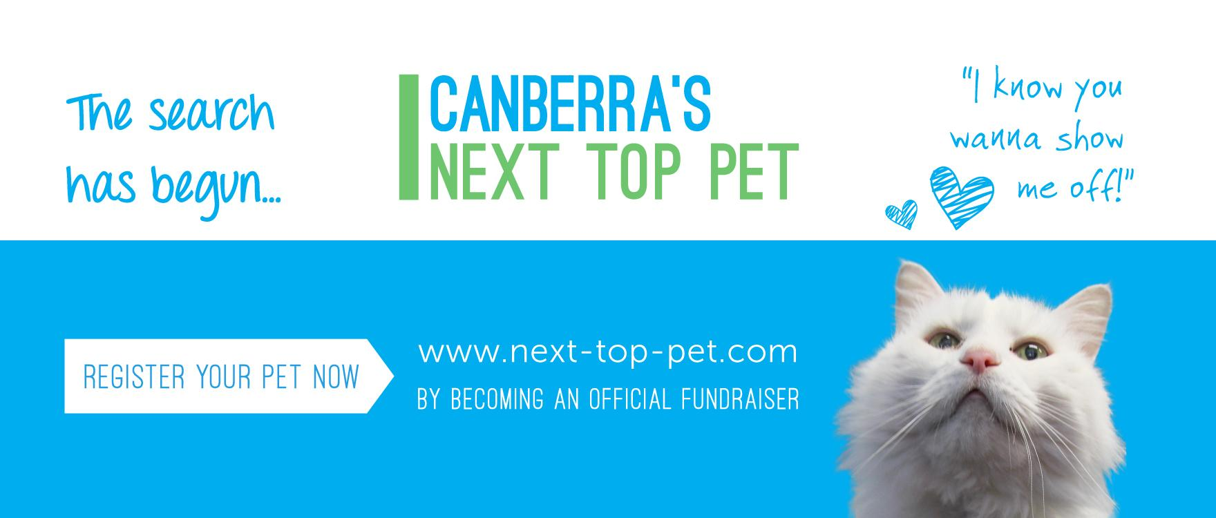 Your pet could be Canberra's Next Top Pet!