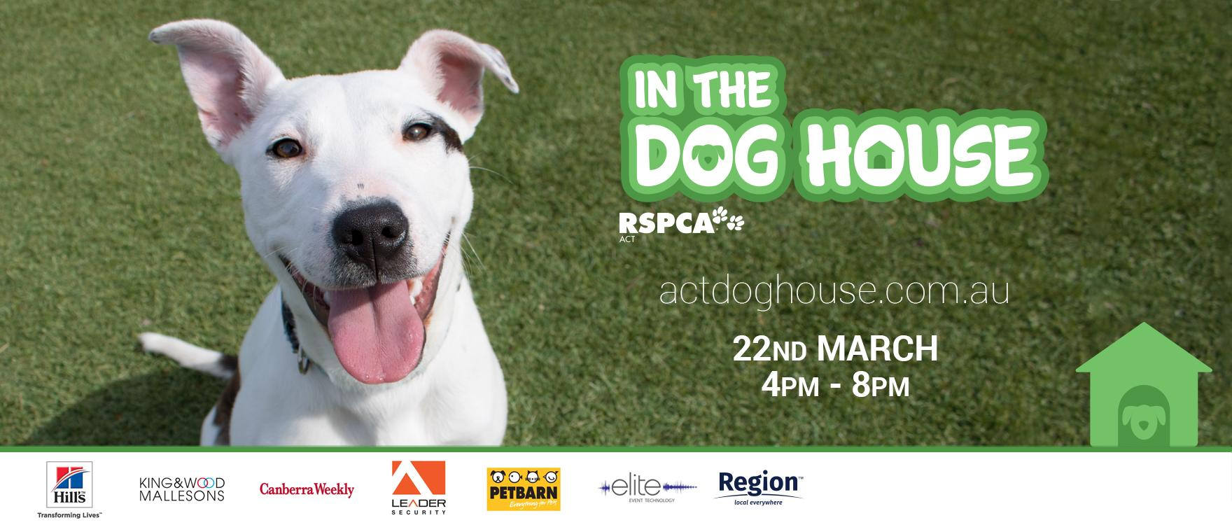 Register Now to go 'In the Dog House'